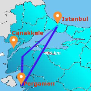 DAILY PERGAMON TOUR BY FLIGHT
