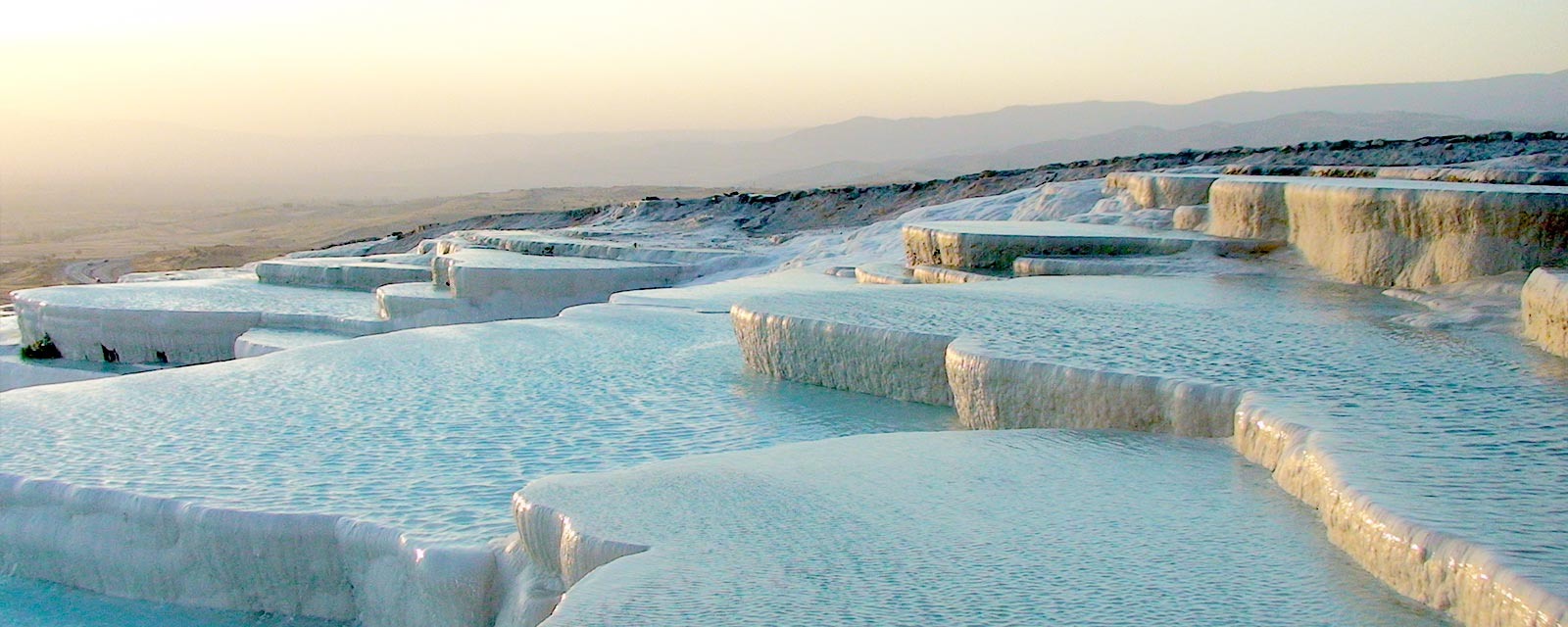 Pamukkale Comes Like from Dreams