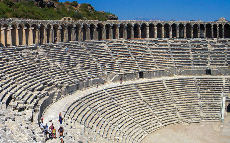 Antalya Perge Antique City and  Aspendos Theatre